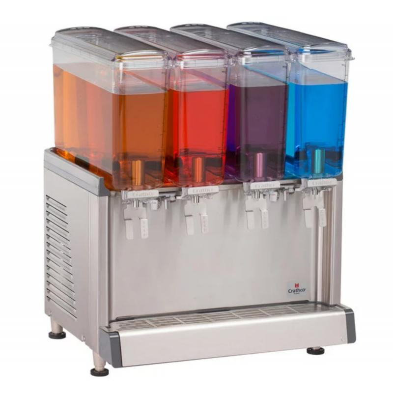 Cold Beverage Dispenser with Agitation Function